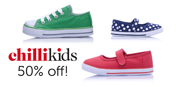 Chillikids Shoes – 50% off at Charlipop Kids World | The ...