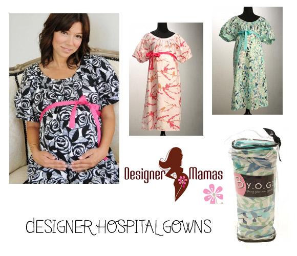 Designer Hospital Gowns | The Australian Baby Blog
