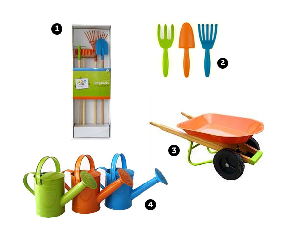 Develop their green thumb kid s gardening tools the for Childrens gardening tools