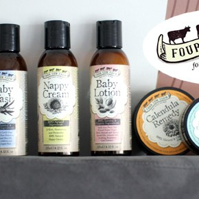100% Natural and Organic Baby Creams and Balms