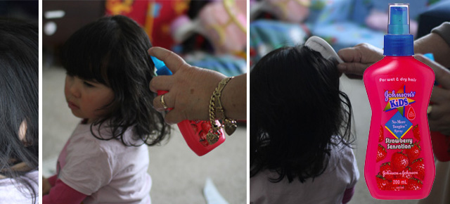 No More Tangles thanks to Johnsons Kids!