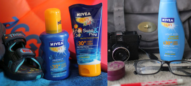 Keep having fun with NIVEA SUN!