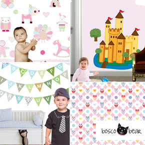 Bosco Bear - Wall Sticker sale on now!