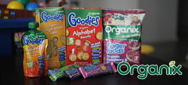 Healthy Kids Snacks by Organix