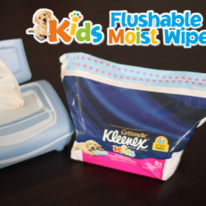 Kleenex Cottonelle Kids Wipes Giveaway! (Closed)