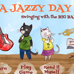 A Jazzy Day - A Music Education App for Kids