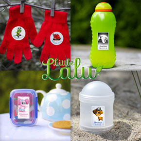 Personalised Labels by Little Lalu