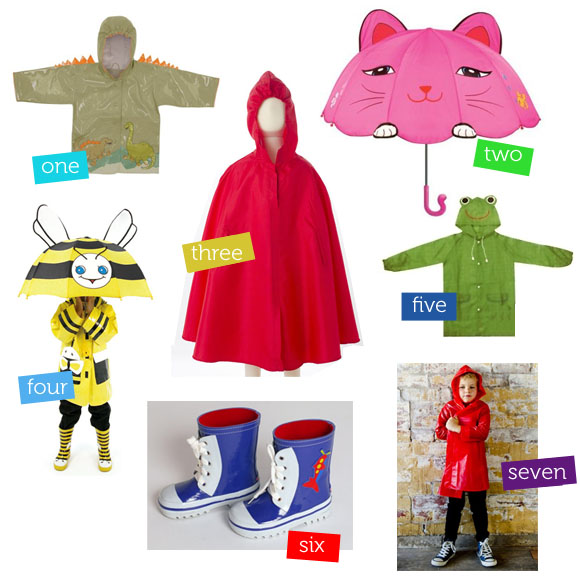 Rainy Day Gear For Kids The Australian Baby Blog