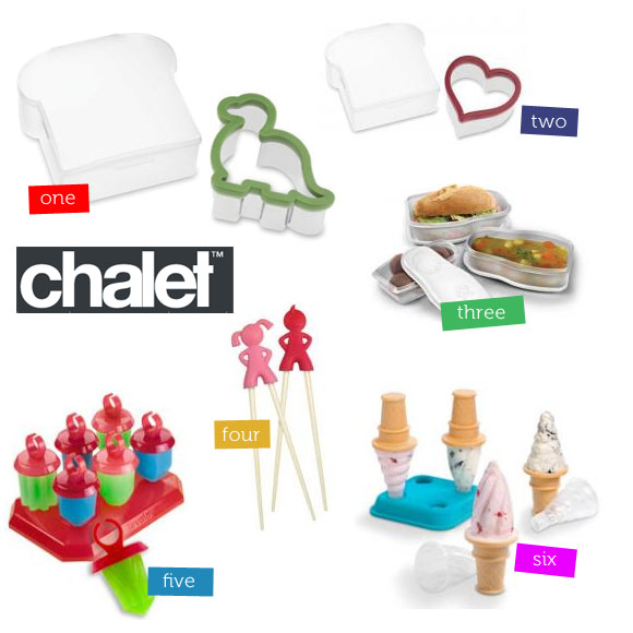 Chalet Always Have A Range Of Designer Kitchenware And Gadgets For Adults But They Also Have