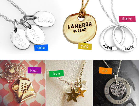 Personalised jewellery for mothers day the australian baby blog one aloadofball Images