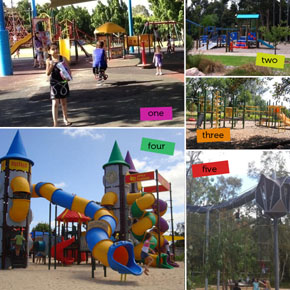 Find a Playground near you with Playground Finder!
