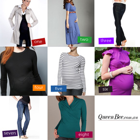Winter Maternity Clothes on sale at Queen Bee