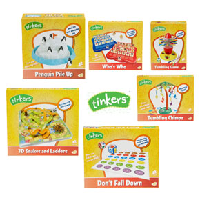 Tinkers Board Games for Kids at Big W