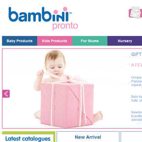 Bambini Pronto SALE ends midnight!