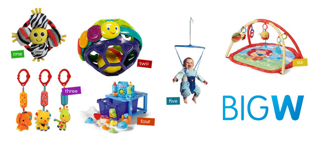 Find great babies toys online with Big W!
