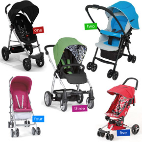 Fun & Funky Strollers to love!