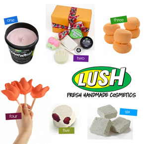 Mothers Day Gifts at Lush Cosmetics