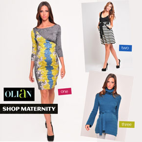 Olian Maternity Dresses & Knits at Shop Maternity