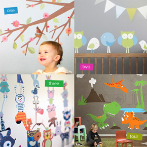 Wall Decals & Wall Stickers at Leafy Dreams Nursery Decals