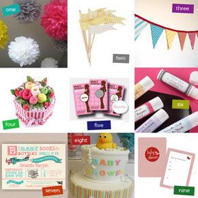 Fun & Affordable Baby Shower Decorations!