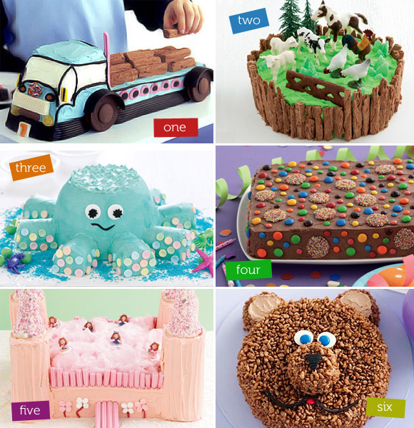 Children S Birthday Cake Designs Recipes : Fun Kids Birthday Cakes at Taste.com.au! The Australian ...