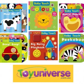 Baby Touch Boardbooks at Toy Universe