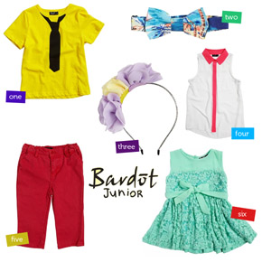 Springtime at Bardot Junior