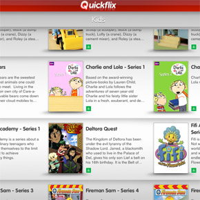 Quickflix for Kids - Online Streaming TV for Children