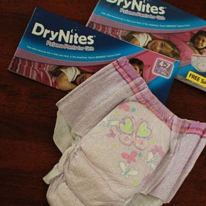 Huggies DryNites Pyjama Pants - GIVEAWAY! (closed)