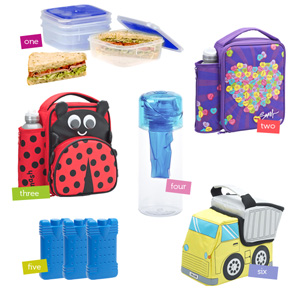 Insulated School Lunch Boxes for Kids