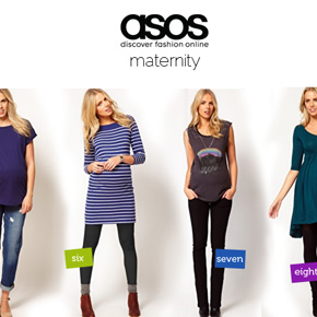 Maternity Wear by Topshop and ASOS