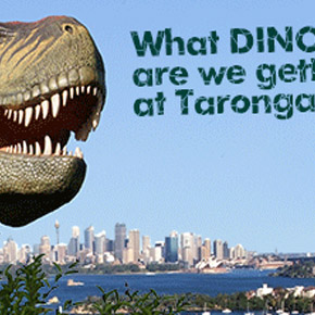 Dinosaurs in the Wild at Taronga Zoo, Sydney