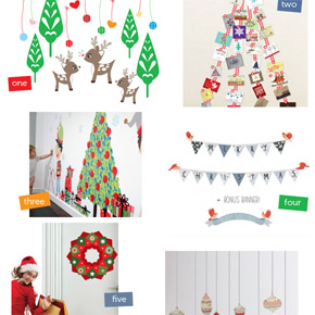 Christmas Wall Decals for 2012!