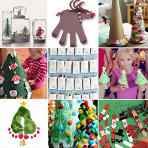 Christmas Craft countdown with Pinterest
