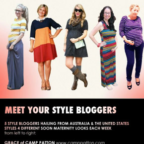 Soon Maternity Style Blogger Challenge!