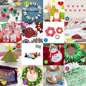16 Easy Christmas Craft Projects!
