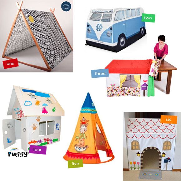 Six Indoor Play Tents & Cubbies for Kids | The Australian Baby Blog
