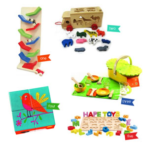 Great Wooden Toys at Little Kiddies