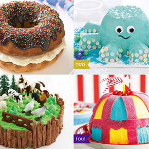 4 Amazing Children's Birthday Cakes!