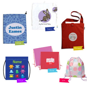 Kids School Library Bags!