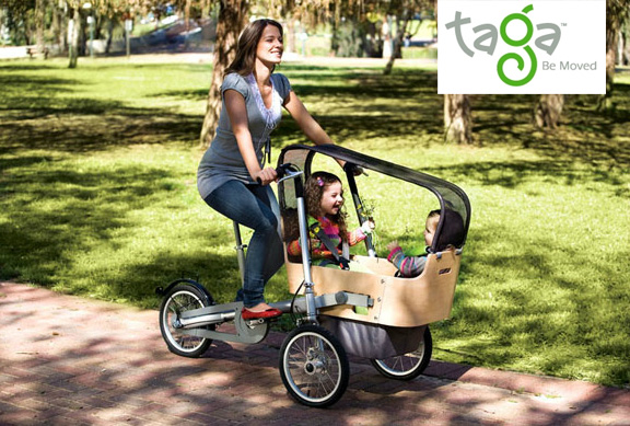 Taga Stroller & Carrier Bicycle for Parents | The ...
